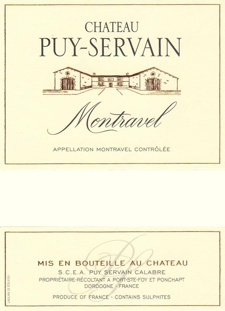 Château Puy Servain Montravel