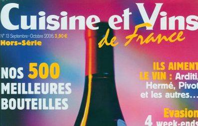 Cuisine et Vins de France Octobre 2006
