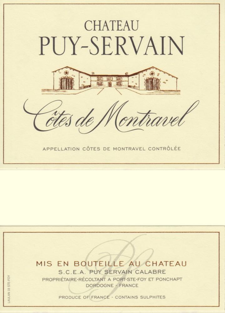 Château Puy Servain Côte de montravel