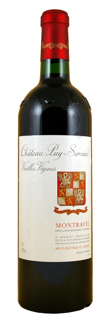 Château Puy Servain Vieilles Vignes Montravel rouge
