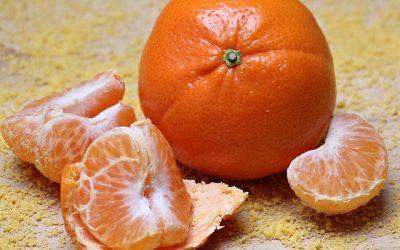 La recette de la salade d'orange au granité de Montravel rouge