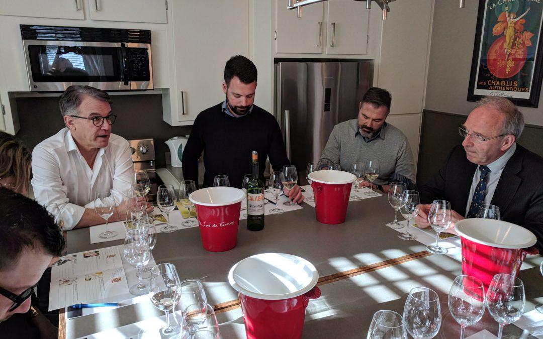 Au Canada, une dégustation de vin commentée par Daniel Hecquet
